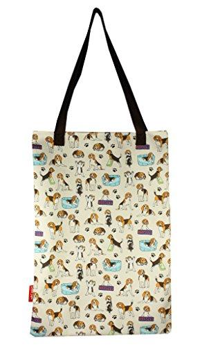 Selina-Jayne Beagles Limited Edition Designer Baumwolltasche (Tote - Jayne Tote