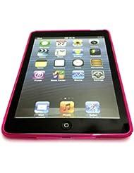 Excellent Value S Line Cover d'Apple IPAD Air vague de gel de silicone pour Apple iPad AIR Hot Pink