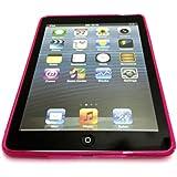 Cubierta de la caja del gel S Línea de Apple IPAD Aire Wave silicona para Apple IPAD AIRE Hot Pink