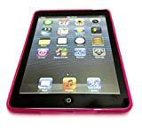Ammirate qualità S Linea di Apple IPAD Air 2 / Ipad 6 (2014-15) della copertura della cassa del gel dell'onda del silicone per Apple iPad Air 2 / Ipad 6 (2014-15) Hot Pink da G4GADGET®