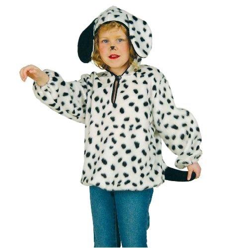 Dalmatiner Kostüm Kind Hunde - Dalmatiner Oberteil Plüsch Tier Hund Kinder Kostüm 98