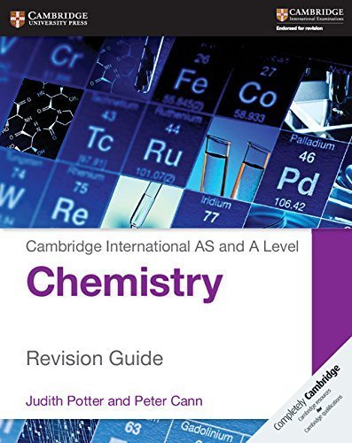 Cambridge International AS and A Level Chemistry Revision Guide (Cambridge International Examinations) by Judith Potter (2015-10-31)