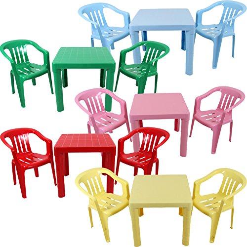 Kinder Sitzgruppe Tisch Mit 2 Stühlen Kindertisch Kindermöbel Möbel