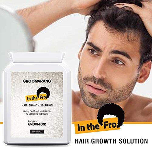 groomarang in der Fro Haar Wachstum Kapseln Extra Stark natürliches Vitamin E Biotin Nahrungsergänzungsmittel Tabletten Pillen B12