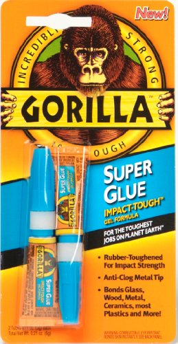 Gorilla Superglue 3g (Pack of 2) Test