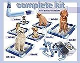 Hunde Toilette Modularer Halter Größe Welpen Klo Puppy Trainer Stubenrein WC