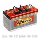 Autobatterie 100AH Banner Power Bull Professional ersetzt 88Ah 92Ah 95Ah