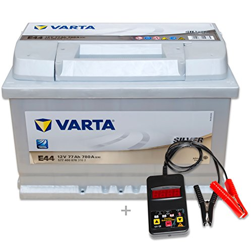 Preisvergleich Produktbild Varta Silver Dynamic E44 - 12 V / 77 Ah - 780 A/EN inkl. Batterietester