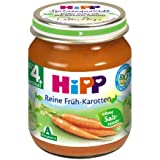 Hipp Reine Früh-Karotten, 6er Pack (6 x 125g)