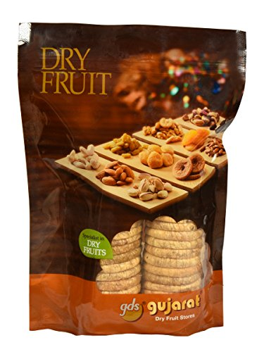 Gujarat Dry Fruit Stores Figs ( Anjeer ) Selected 250 Grams  available at amazon for Rs.430