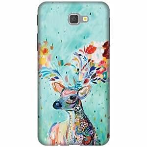 PrintlandDesignerHard Plastic Back Cover For Samsung Galaxy J7 Prime -Multicolor
