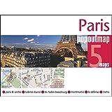 Paris PopOut Map - handy pocket size pop up map of Paris including a metro map (Popout Maps)