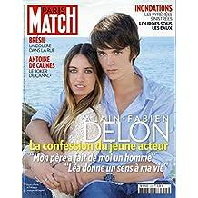 Paris Match n° 3345 du 27 Juin 2013 - Le fils de Alain Delon, Lourdes sous les eaux