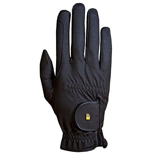 Roeckl Sports Roeck Grip Junior Winter Handschuh, Kinder Reithandschuh, Schwarz, 5