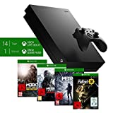 Microsoft Xbox One X inkl. Metro Exodus   Fallout 76