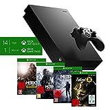 Xbox One: Microsoft Xbox One X, schwarz - Metro Exodus Bundle + Fallout 76: S.P.E.C.I.A.L. Edition [Xbox One] (exkl. bei Amazon)
