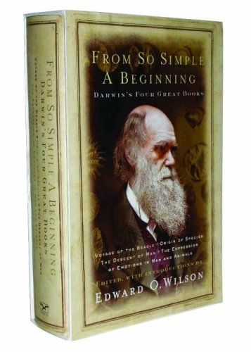 from-so-simple-a-beginning-darwin-39-s-four-great-books-by-charles-darwin-2005-10-28
