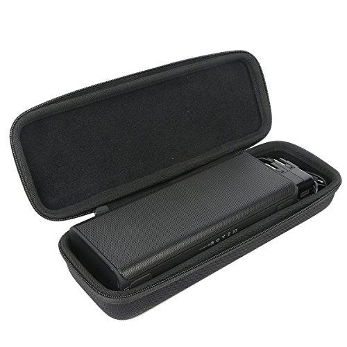 Khanka EVA Hart Reise Tragetasche Tasche Für Bluetooth Lautsprecher TaoTronics 14W kabellos tragbar Stereo Speaker (TT-SK10). Für Wall Ladegerät und Kabel