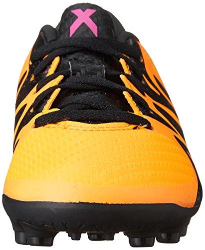 adidas X 15.3 HG J, Scarpe da Calcio Unisex bambini Multicolore (Varios colores (Amarillo / Negro / Rosa (Dorsol / Negbas / Rosimp)))