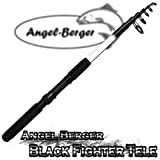Angel Berger Black Fighter Tele Teleskoprute Spinnrute (2.40m)