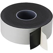 Poppstar Cinta de aislamiento universal autosellante (Cinta de sellado), 10 m x 38 mm x 0.76 mm, negro