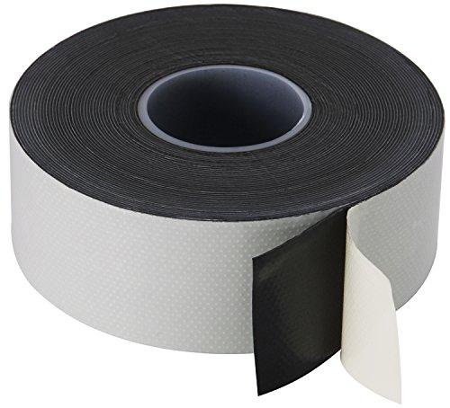 Poppstar 1008995 1x selbstverschweißendes Universal Isolierband und Dichtungsband, LxBxH 10m x 38mm x 0,76mm, schwarz