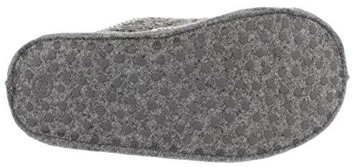 Herren Hausschuhe Pantoffeln KNITTED 35301 Black Multi