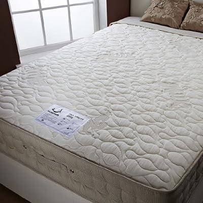 Happy Beds Natural Milk 2000 Memory Foam Pocket Sprung Mattress Sleep - cheap UK light shop.