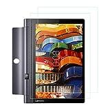Lenovo Yoga Tab 3 Pro Protection écran,2-pack 0.25mm Film Protection en Verre trempé écran Protecteur pour Lenovo Yoga Tab 3 Pro 10.0 Inch vitre Haute Définition Dureté 9H [Compatible 3D Touch]