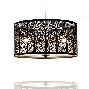h ngelampe h ngeleuchte natura deckenlampe 40cm natur wald lounge wohnzimmer. Black Bedroom Furniture Sets. Home Design Ideas