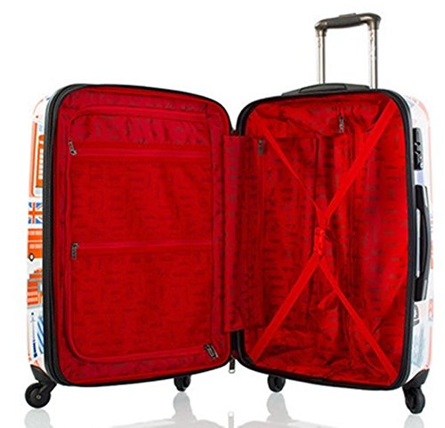 ... 50% SALE ... PREMIUM DESIGNER Hartschalen Koffer - Heys Künstler Fernando Cities - Trolley mit 4 Rollen Medium Cities