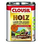 CLOUsil Holzlasur Holzschutzlasur für außen teak Nr. 9, 0.75L: Wetterschutz, UV-Schutz, Nässeschutz und Schimmel für alle Holzarten - in verschiedenen Farben