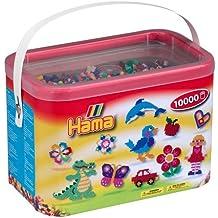 Hama - Cubo Cartón 10000 Perlas