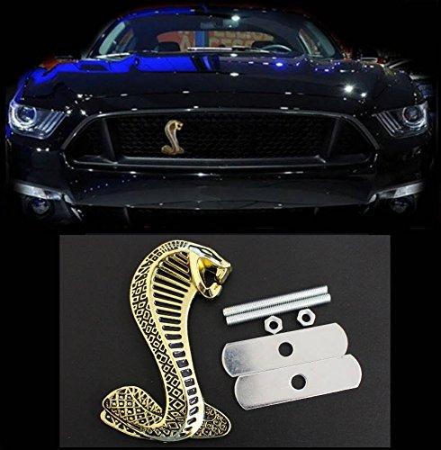 Emblema Griglia Shelby Cobra Snake Gold