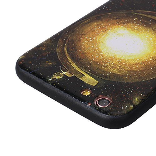 iPhone 6S Case mit Stand, iPhone 6 Hülle mit Stand, Moon mood® Handy Fall 2 in 1 Hybrid Schutzhülle für Apple iPhone 6 / iPhone 6S 4.7 Zoll Hart PC + Weich TPU Silikon Ständer Schale Backcover Handyta Muster 3