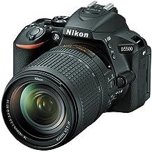 NIKON Fotocamera Reflex Nikon D5500 Nera + 18-140mm VR