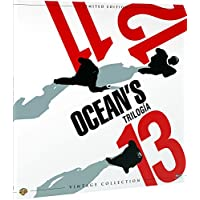 Trilogía Oceans Colección Vintage (Funda Vinilo) Blu-Ray