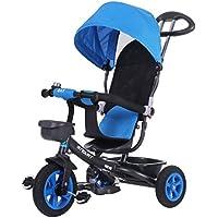 Baby carriage Triciclo 1-3-6 Años De Edad Cochecito De Bebé Aleación Cuerpo