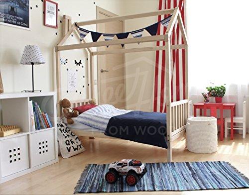Sweet Home of Wood Montessori - Cama Infantil Patas