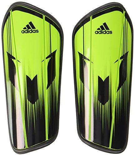 adidas Herren Schienbeinschoner Messi 10 Pro, Neon Grün/Schwarz, L, AH7784