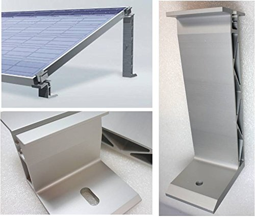 43 Mm Modul Endklemme Aluminium Höhe 43 Mm Be Novel In Design Solar Pv Photovoltaik 2 Stück