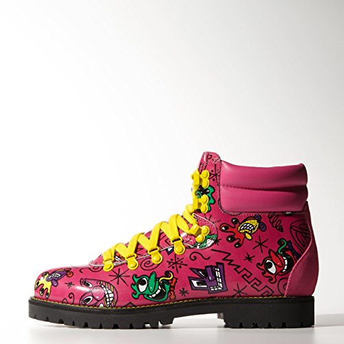 Shoes adidas x Jeremy Scott Face Hiking Boot (M18988) pink