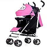 Peixia Department Store Kinderwagen ★ Ultra Lightweight Kinderwagen ★ Klapp-Kinderwagen ★ Geeignet für 0-36 Monate Baby Buggy Stroller Babywagen (Farbe : 2#)