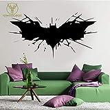 Batman Superhero Logo Transfert Sticker Mural Décor À La Maison Décor Amovible...