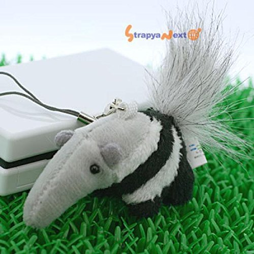 soft-and-downy-mini-animal-stuffed-toy-cell-phone-strap-ant-eater