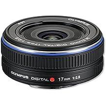 Olympus M.Zuiko Digital 17mm 1:2.8 Pancake Objektiv (37 mm Filtergewinde) schwarz