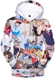 EmilyLe Ladies BTS Member Portrait Sweatshirt Kpop Bangtan Boys Jin Suga J-Hope Rap Monster Jimin V Jung Kook 3D Sweaters