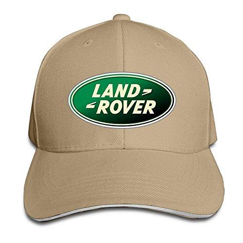 UUOnly Land Rover Logo Einstellbare Snapback Schirmmütze Baseball Mützen Natur -