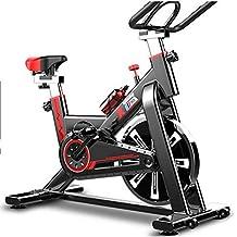 JLSYYCC Bicicleta De Giro Silenciosa, Bicicleta Estática para Pedalear En Interiores, Equipo De Ejercicios