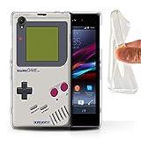 Stuff4® Gel TPU Hülle/Hülle für Sony Xperia Z1 / Nintendo Game Boy Muster/Spielkonsolen Kollektion